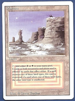 Magic the Gathering 3rd Ed (Revised) Single Plateau MODERATE PLAY (VG/EX)