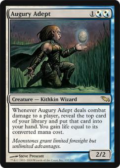 Magic the Gathering Shadowmoor Single Augury Adept - NEAR MINT (NM)