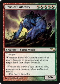 Magic the Gathering Shadowmoor Single Deus of Calamity - NEAR MINT (NM)
