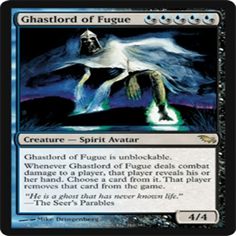 Magic the Gathering Shadowmoor Single Ghastlord of Fugue Foil