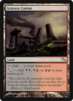 Magic the Gathering Shadowmoor Single Graven Cairns - SLIGHT PLAY (SP)
