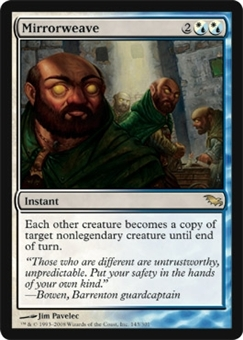 Magic the Gathering Shadowmoor Single Mirrorweave - NEAR MINT (NM)
