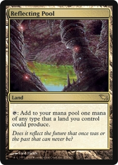 Magic the Gathering Shadowmoor Single Reflecting Pool - NEAR MINT (NM)