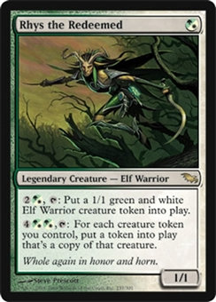 Magic the Gathering Shadowmoor Single Rhys the Redeemed - NEAR MINT (NM)