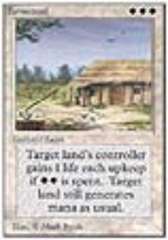 Magic the Gathering Unlimited Single Farmstead - NEAR MINT (NM)