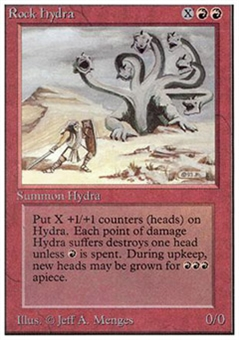 Magic the Gathering Unlimited Single Rock Hydra - NEAR MINT (NM)