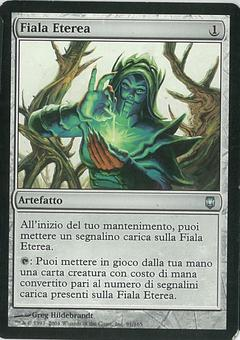 Magic the Gathering Darksteel ITALIAN Single Aether Vial - SLIGHT PLAY (SP)