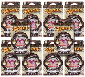 Magic the Gathering 2011 Core Set Intro Pack - Blades of Victory (Lot of 10)
