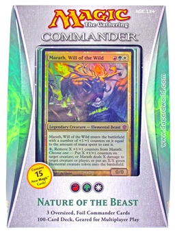 Magic the Gathering Commander Deck (2013) - Nature of the Beast