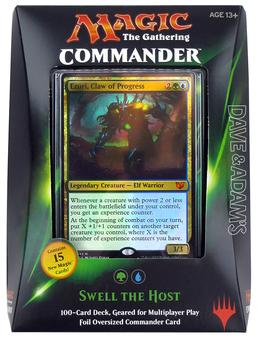 Magic the Gathering Commander Deck (2015) - Swell the Host (Green/Blue)