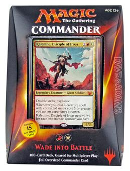 Magic the Gathering Commander Deck (2015) - Wade into Battle (Red/White)