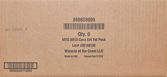 Magic the Gathering 2013 Core Set Fat Pack Case (6 Ct.)