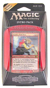 Magic the Gathering 2013 Core Set Intro Pack - Mob Rule