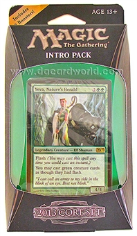 Magic the Gathering 2013 Core Set Intro Pack - Wild Rush