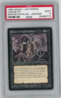 Magic the Gathering Legends Chains of Mephistopheles PSA 9 - **25495772**