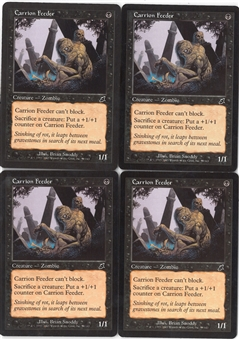 Magic the Gathering Scourge PLAYSET Carrion Feeder X4 - NEAR MINT (NM)