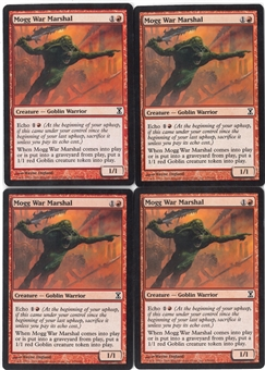 Magic the Gathering Time Spiral PLAYSET Mogg War Marshal X4 - NEAR MINT (NM)