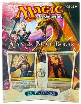 Magic the Gathering Ajani Vs. Nicol Bolas Duel Deck