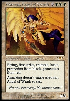 Magic the Gathering Legions FRENCH Single Akroma, Angel of Wrath - NEAR MINT (NM)