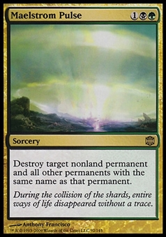 Magic the Gathering Alara Reborn Single Maelstrom Pulse - MODERATE PLAY (MP)