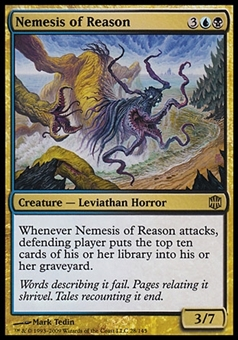 Magic the Gathering Alara Reborn Single Nemesis of Reason - SLIGHT PLAY (SP)