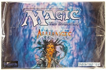 Magic the Gathering Alliances SEALED Booster Box - EX Box