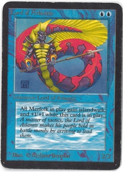 Magic the Gathering Alpha Single Lord of Atlantis - Highly Played (HP)