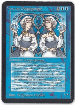 Magic the Gathering Alpha Single Vesuvan Doppelganger - MODERATE PLAY (MP)