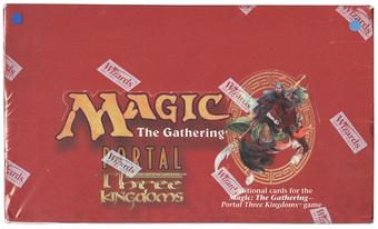 Magic the Gathering Portal 3 Three Kingdoms English MINT SEALED Booster Box
