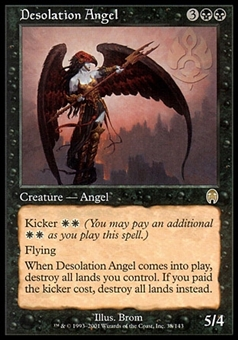 Magic the Gathering Apocalypse Single Desolation Angel - SLIGHTLY PLAYED (SP)