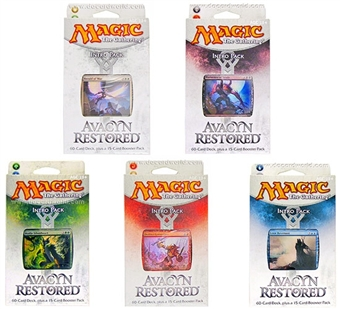 Magic the Gathering Avacyn Restored Intro Pack Set of 5