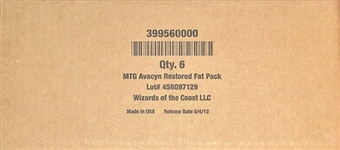 Magic the Gathering Avacyn Restored Fat Pack Case (6 Ct.)
