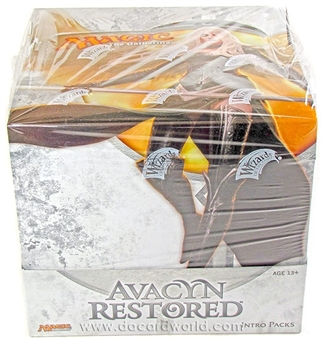 Magic the Gathering Avacyn Restored Intro Pack Box