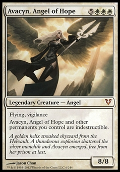 Magic the Gathering Avacyn Restored Single Avacyn, Angel of Hope - SLIGHT PLAY (SP)