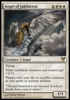 Magic the Gathering Avacyn Restored Single Angel of Jubilation - SLIGHT PLAY (SP)