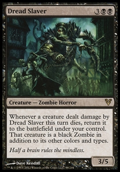 Magic the Gathering Avacyn Restored Single Dread Slaver FOIL - NEAR MINT (NM)