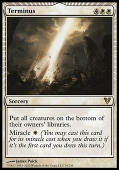 Magic the Gathering Avacyn Restored Single Terminus - SLIGHT PLAY (SP)