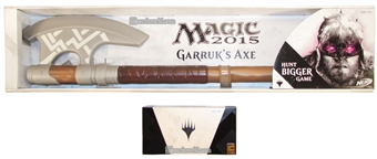 Magic the Gathering 2014 Comic Con Planeswalker Set with Garruk Wildspeakers Axe