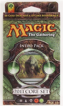 Magic the Gathering 2011 Core Set Intro Pack - Stampede of Beasts