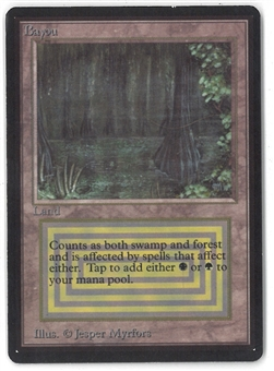 Magic the Gathering Beta Single Bayou - SLIGHT PLAY (SP)