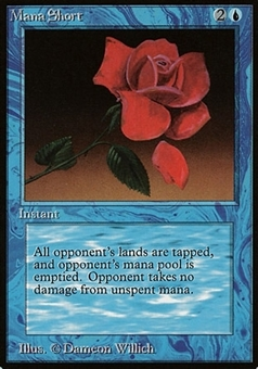Magic the Gathering Beta Single Mana Short - NEAR MINT (NM)