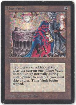 Magic the Gathering Beta Single Time Vault - MODERATE PLAY (MP)