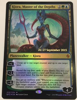 Magic the Gathering Promo Kiora, Master of the Depths FOIL - NEAR MINT (NM)