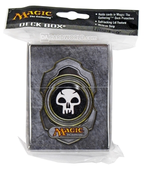 Ultra Pro Magic the Gathering V3 Black Mana Deck Box