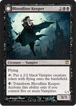 Magic the Gathering Innistrad Single Bloodline Keeper - SLIGHT PLAY (SP)