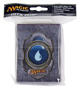 Ultra Pro Magic the Gathering V3 Blue Mana Deck Box