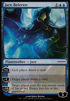 Magic the Gathering Promotional Single Jace Beleren (Book Promo) - NEAR MINT (NM)