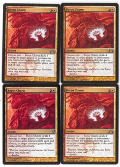 Magic the Gathering Gatecrash Single PLAYSET Boros charm X4 - NEAR MINT (NM)