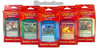 Magic the Gathering Born of the Gods Intro Packs - Set of 5