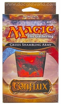 Magic the Gathering Conflux Intro Pack - Grixis Shambling Army